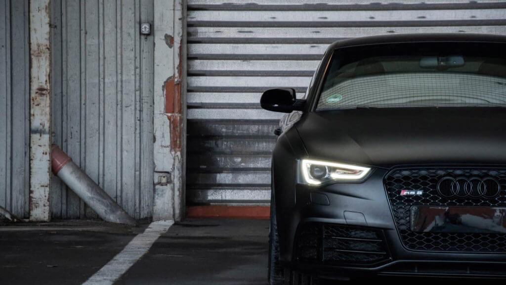Audi-A5-RS5-foliert-Matt-Perfect-Black