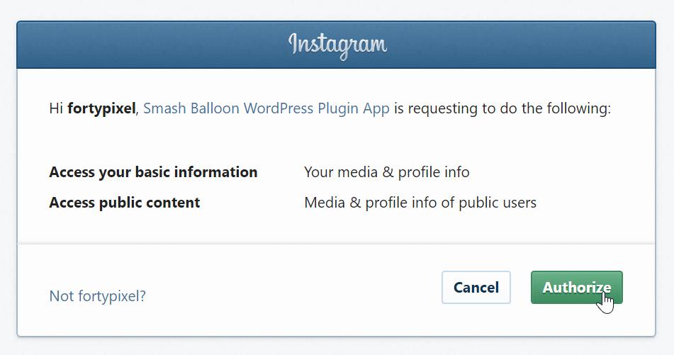 instagram-plugin-zugriff-erteilen